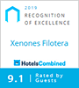 HotelsCombined Recognition of Excellence 2019